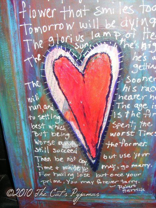 Funky Heart Art