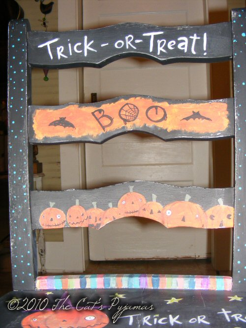 Halloween Chair