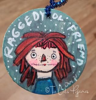 Raggedy Ol' Friends ornament