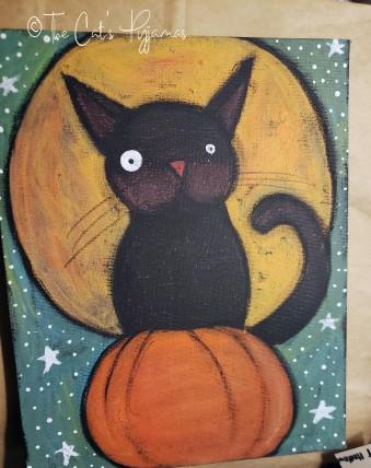 Harvest Moon & Cat