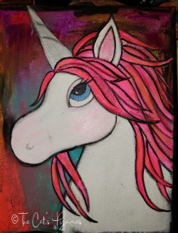 Custom order: Pink Unicorn