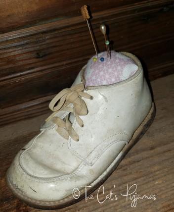 Old Brown Shoe Pincushion