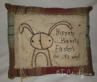 Hippety Hoppity Pillow