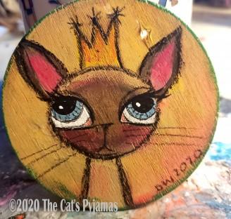 Princess Siamese ornament