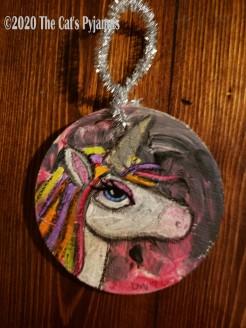 Elsie the Unicorn ornament