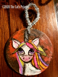 Arowen the Unicorn ornament