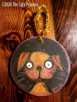 Bailey the Dog ornament