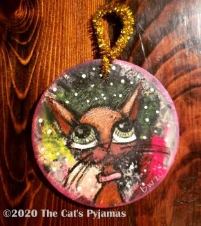 Jasmine the Cat ornament