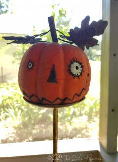 Jacko Pumpkin head makedo