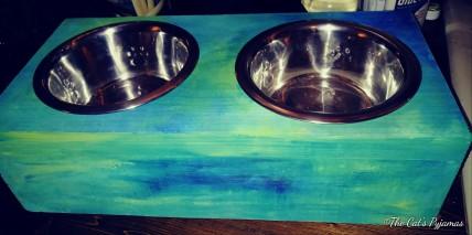 SOLD Custom pet bowls