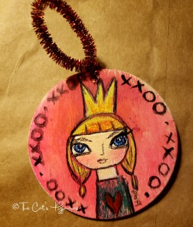 Princess Valentine ornament