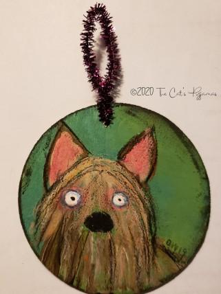 Yorkie Ornament
