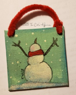 Snow! Ornament