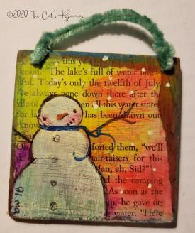 Sammy Snowman Ornament