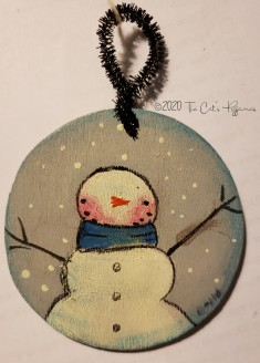Ol' Blue Snowman