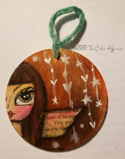 Tabitha Ornament