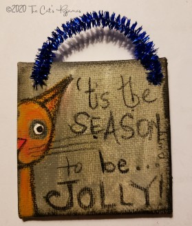 Be Jolly ornament