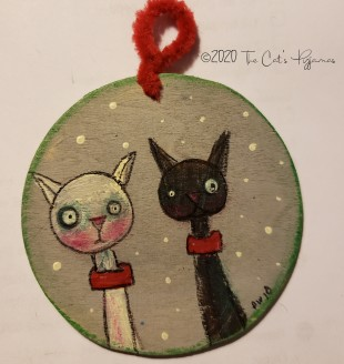Cat Buddies ornament