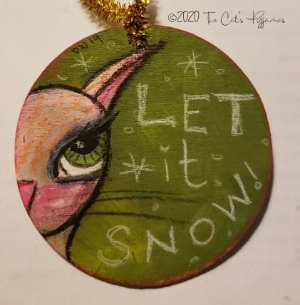 Snowy ornament
