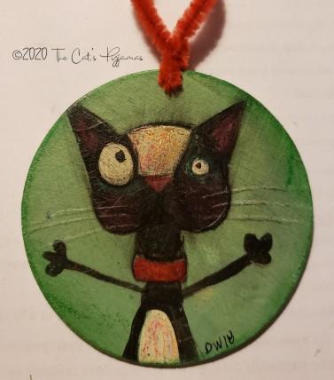 Crazy Eyes Ornament