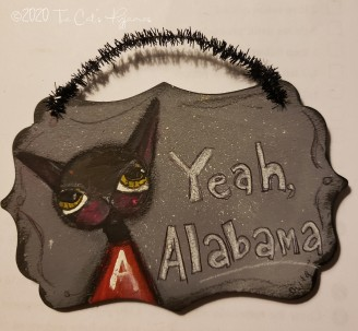Yeah, Alabama ornament