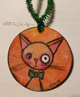 Peaches ornament