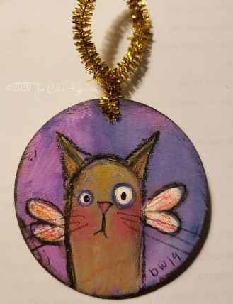 Cat Fairy ornament