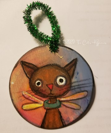 Angel Cat ornament