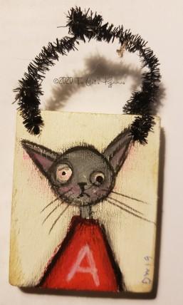 Alabama Cat ornament