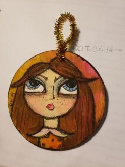 Amber Ornament