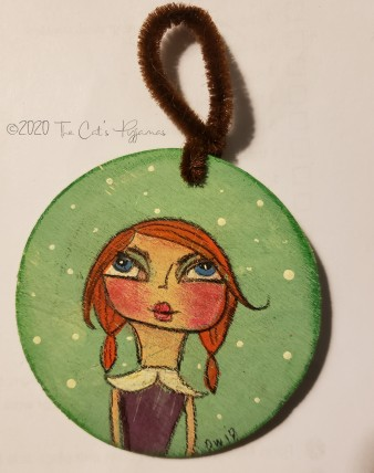 Miss Joy Ornament