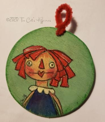 Raggedy Ann Ornament