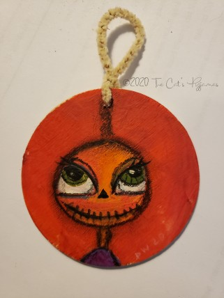 Carlotta Pumpkin ornament