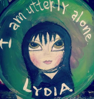 SOLD Lydia painted bowl