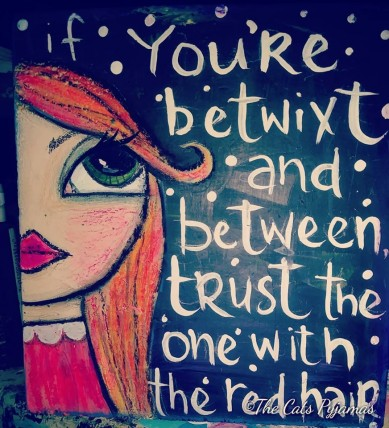 Trust the redhead