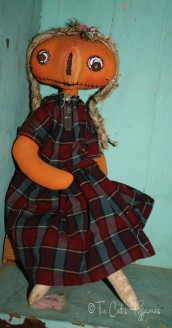 SOLD Penny Pumpkin