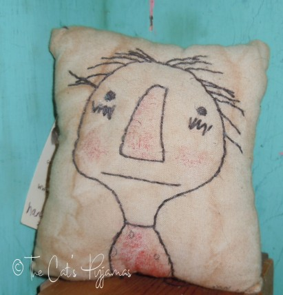 SOLD Raggedy Pillow