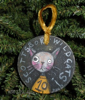 Scottsboro Wildcats Ornament #10