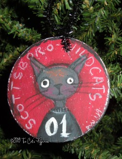 Scottsboro Wildcats Ornament #01