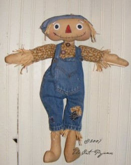 SOLD Raggedy Scarecrow