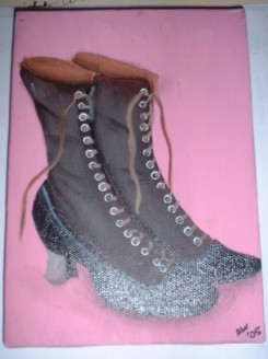 Victorian Shoes (brown)