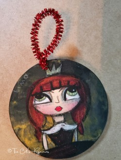 Halloween Princess ornament