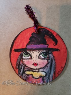 Wendy the Witch ornament