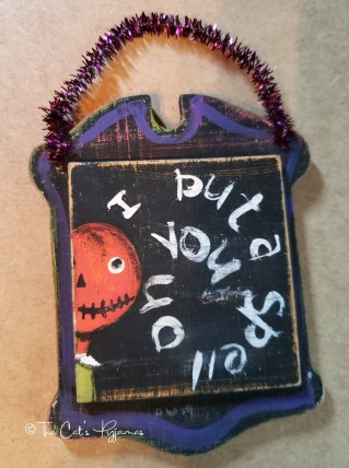 I Put a Spell on You ornament
