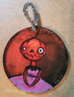 Patty Punkinhead ornament