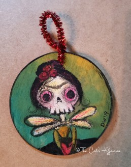 Frida Punkinhead ornament