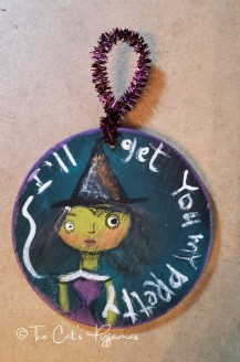 Witchy ornament
