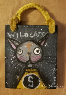 Scottsboro Wildcat Ornament
