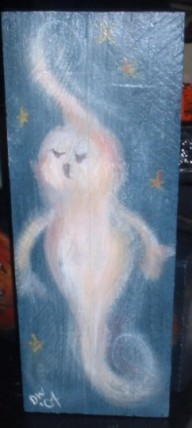 SOLD Ghost painting
