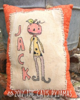 Jack Stitchery Pillow